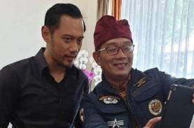 Disebut Jadi Calon Ketum Demokrat, Ridwan Kamil: Jangan…