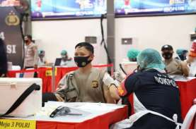 2.000 Personel TNI-Polri Disuntik Vaksin Covid