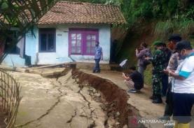 27 Kabupaten di Jateng Rawan Pergerakan Tanah