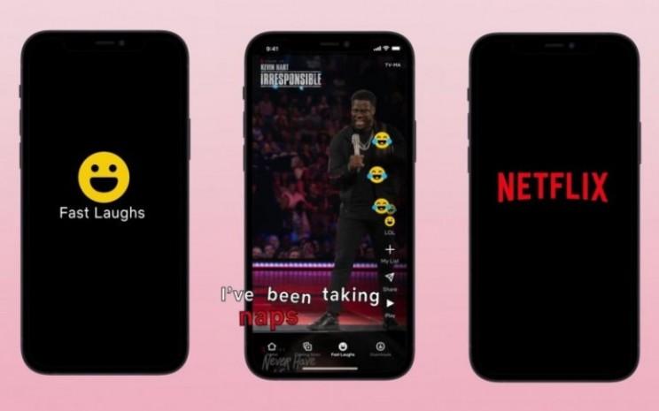 Kehadiran Fast Laughs juga membantu Netflix dalam menunjukkan strategi mempertahankan pelanggannya melalui banyaknya variasi konten dalam platformnya.  - Fast Laughs
