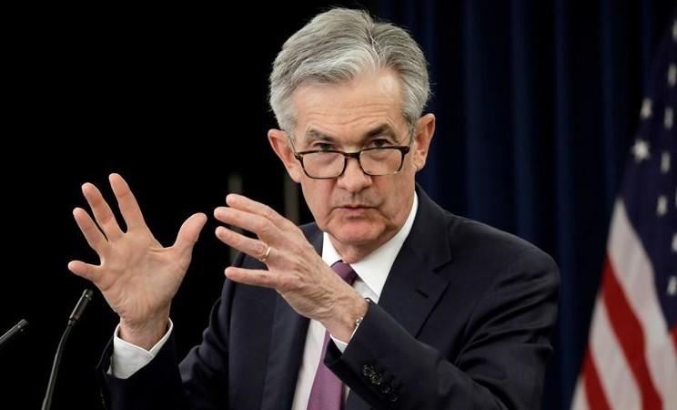 Federal Reserve Board Chairman Jerome Powell. -  REUTERS / Yuri Gripas