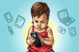 Moms, Paparan Layar Gagdet Picu Gangguan Makan Anak