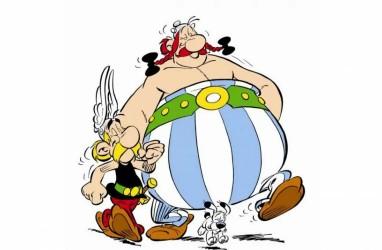 Netflix Buat Serial Animasi Komik Lawas 'Adventures of Asterix'