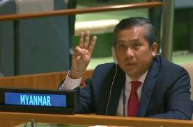 Wakil Junta Militer Myanmar di PBB Mundur, Kyaw Moe…