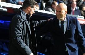 Jadwal La Liga Spanyol : Derbi Atletico vs Madrid, Barcelona 3 Poin