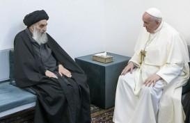 Kunjungan ke Irak, Paus Fransiskus Temui Ayatollah Ali al-Sistani