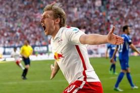 Hasil Bundesliga : Menang Telak, Leipzig Pimpin Klasemen…