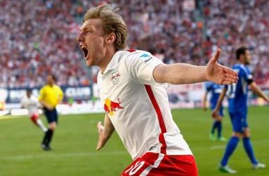 Hasil Bundesliga : Menang Telak, Leipzig Pimpin Klasemen Geser Munchen