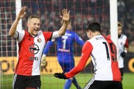 Hasil Liga Belanda : Feyenoord Balik ke Jalur Kemenangan,…