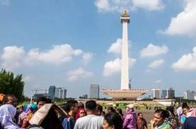 Cuaca Jakarta Berawan Pagi Ini