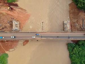 Pembangunan Jembatan Trans Sumatra Telan Biaya Rp58 Miliar