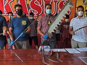 Polisi Tangkap Kawanan Geng Motor Yang Mengancam Warga di Banten