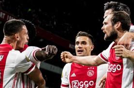 Hasil Liga Belanda: Kalahkan Groningen, Ajax Mantap…