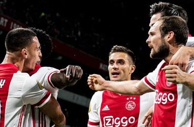 Hasil Liga Belanda: Kalahkan Groningen, Ajax Mantap di Puncak Klasemen