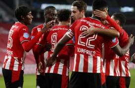 Hasil Liga Belanda : Menang 3–1 Juga, PSV Terus Merapat ke Ajax