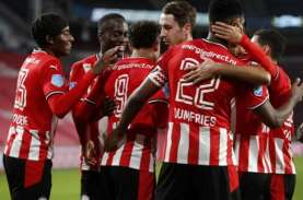 Hasil Liga Belanda : Menang 3–1 Juga, PSV Terus Merapat…
