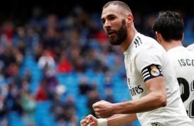 Hasil Derby La Liga Spanyol, Benzema Penyelamat Madrid vs Atletico