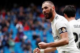 Hasil Derby La Liga Spanyol, Benzema Penyelamat Madrid…