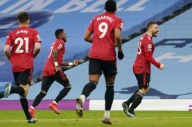 Hasil Lengkap Liga Inggris, United Hentikan 21 Kemenangan…
