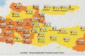 22 Daerah di Jatim Zona Oranye Covid-19, PPKM Mikro…