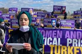 Kaum Perempuan Turki Protes Pelanggaran HAM Terhadap…