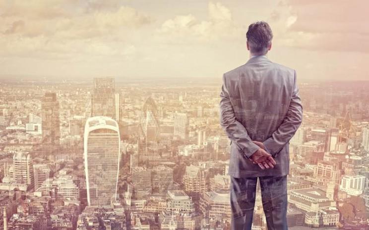 Ilustrasi pengusaha sukses - istimewa