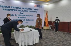 Serah Terima Jabatan, Faizal Arief Setiawan Pimpin BNI Wilayah 02 Padang