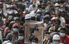 Lagi-Lagi Demonstran di Myanmar Tewas Akibat Tertembak di Kepala