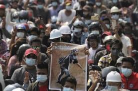 Lagi-Lagi Demonstran di Myanmar Tewas Akibat Tertembak…