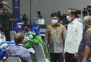 WHO Puji Kepemimpinan Jokowi terkait Vaksinasi Covid-19