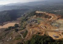 Tambang emas Martabe di Batang Toru, Sumatra Utara, Rabu (13/2/2013)./Bloomberg-Dadang Tri