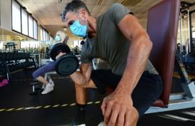 Berolahraga Aman Pakai Masker, Pusat Kebugaran Berpeluang Dibuka
