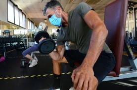 Berolahraga Aman Pakai Masker, Pusat Kebugaran Berpeluang…
