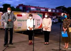 1,1 Juta Dosis Vaksin AstraZeneca TIba di Indonesia