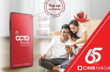 CIMB Niaga Genjot Transaksi QRIS OCTO Mobile