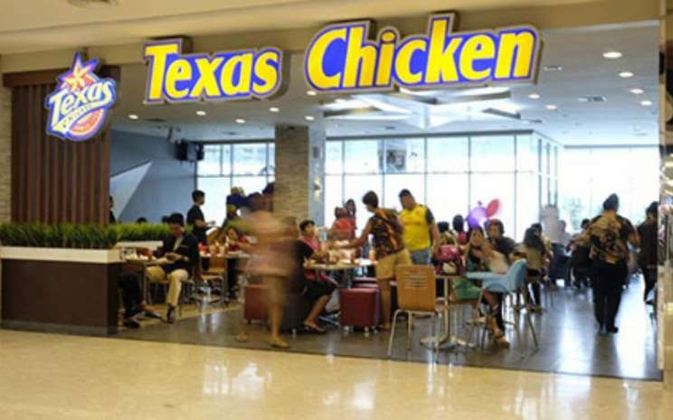 Salah satu gerai Texas Fried Chicken di Jakarta. - texaschicken.co.id