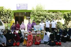 Jelang Ulang Tahun, PTPN IV Bagi-bagi Sembako dan…