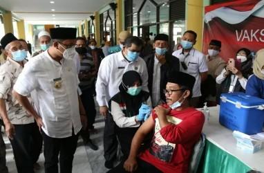 Ribuan Tokoh Agama di Sidoarjo Jalani Vaksinasi Covid-19