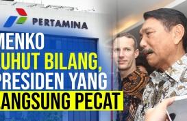 Akibat Proyek Pipa Rokan, Luhut Bilang Jokowi Pecat Pejabat Pertamina