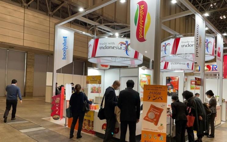 PT Malindo Food Delight dengan produk SunnyGold turut meramaikan pameran yaitu FOODEX 2021 di Jepang.  - Istimewa
