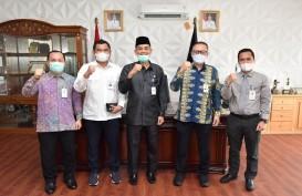 Bank Riau Kepri Sosialisasikan Konversi jadi Bank Syariah ke Wali Kota Dumai