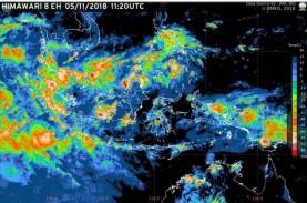 BMKG Rilis Peringatan Dini Cuaca Hujan Lebat Disertai…