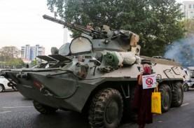 Lawan Pendemo, Tentara Myanmar Pakai Senjata dan Taktik…