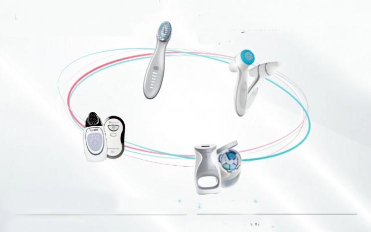Beauty device mungil ini melengkapi rangkaian perangkat perawatan kulit Nu Skin.  - Nu Skin