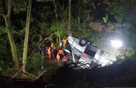 Bus Masuk Jurang di Sumedang Menelan Korban Jiwa 27 Orang