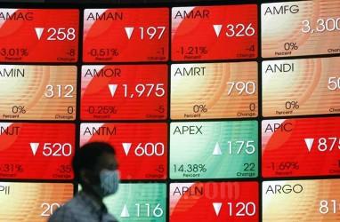 10 Saham Paling Amblas pada Jumat (12/3), Bank Oke dan Bank Amar Senasib