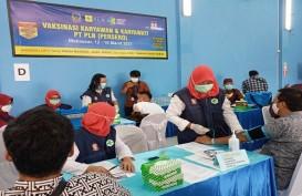 Jamin Keandalan Layanan, PLN Sulselrabar Vaksin 1.879 Pegawai dan TAD