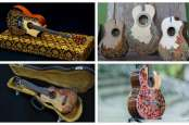 PRODUK GITAR BOUTIQUE UMKM : Alat Musik Sarat Inovasi Jadi Buruan Musisi