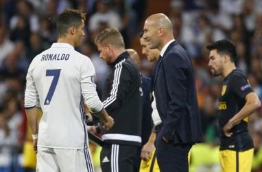Ronaldo Balik ke Madrid Musim Depan? Ini Tanggapan Zidane