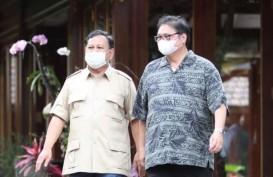 Airlangga Bertemu Prabowo di Hambalang, Bahas Pilpres 2024?
